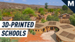 Here's what the world's first 3D printed school will look like