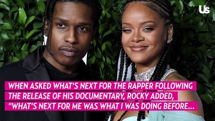 A$AP Rocky Talks Future With Rihanna At 'Stockholm Syndrome' Film Premiere