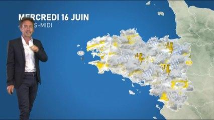 Illustration de l'actualité Bulletin météo pour le mercredi 16 juin 2021