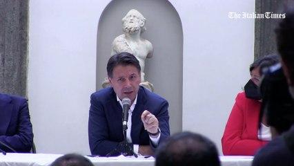 """M5S, Conte a Napoli per Manfredi sindaco: """"Se movimento vorrà sarò il leader"""""""