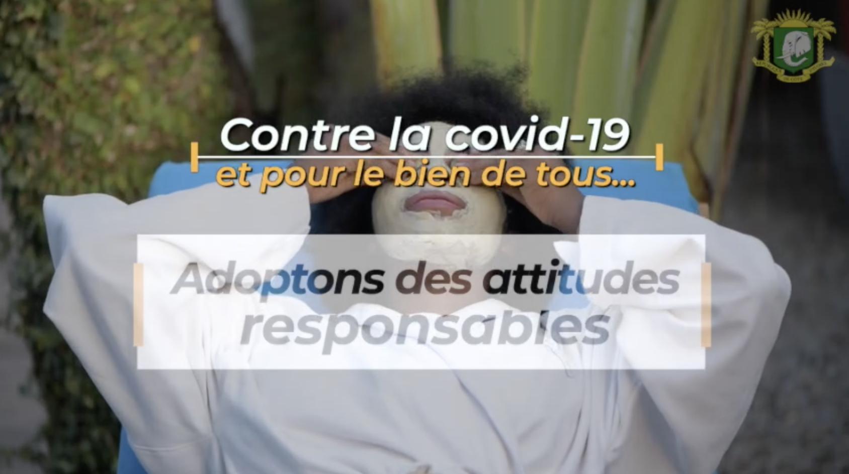 Contre la COVID, adoptons des attitudes responsables…