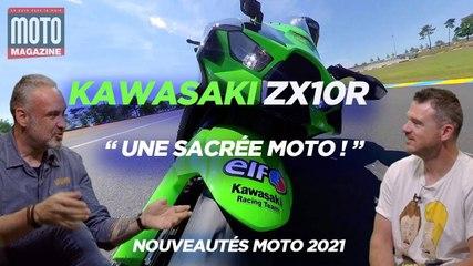 Kawasaki ZX10R, une sacré moto Essai Mot Magazine