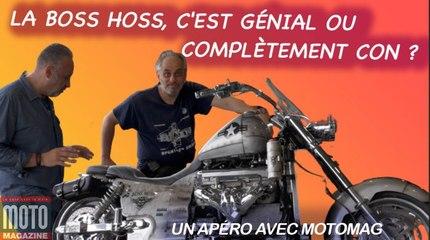 La Boss Hoss, c'est génial ou complètement con Un Apéro avec Moto Magazine