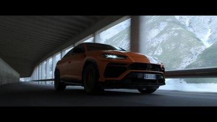 Lamborghini Urus و Aaron Durogati معًا لتحقيق إنجاز غير عادي
