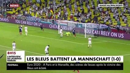 Les Bleus ont réussi leur entame dans l'Euro, avec un succès (1-0) sur les Allemands à Munich. Des débuts prometteurs, même si aucun Français n'a marqué.