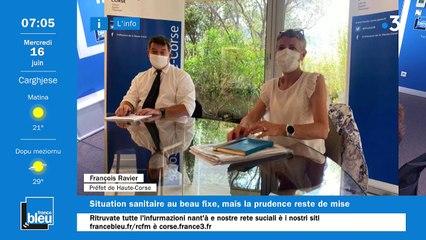 16/06/2021 - La matinale de France Bleu RCFM
