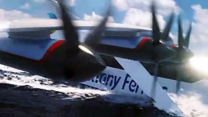 Le Seaglider, nouveau mode de transport maritime rapide, durable et performant
