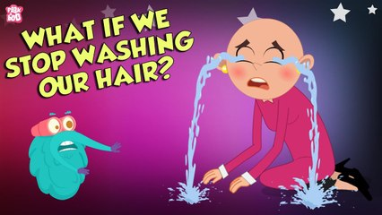 What If We Stopped Washing Hair?   Importance of HAIR WASH   The Dr Binocs Show   Peekaboo Kidz