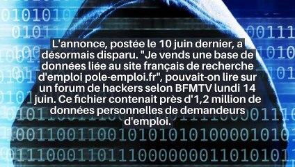 Pôle emploi : les données personnelles d'un million de demandeurs d'emploi revendues sur Internet ?_IN