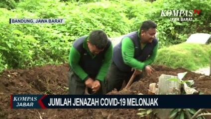 Di Bandung, Petugas Pemakaman Covid Kewalahan