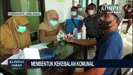 Guru Kiara Pedes Purwakarta Dapat 1.500 Dosis Vaksin Covid
