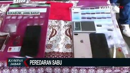 Polisi Sukabumi Kota Tangkap 10 Pengedar Narkoba