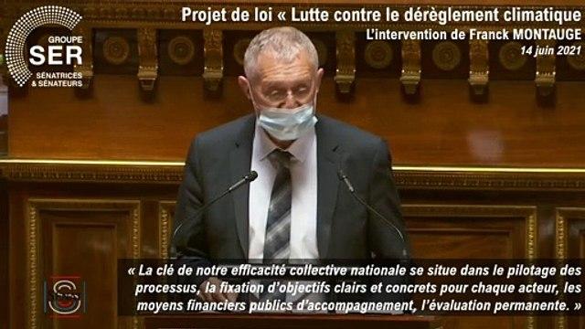PJL Climat et Résilience : l'intervention de Francl Montaugé p.2