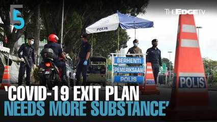 EVENING 5: National Recovery Plan needs more substance — IDEAS
