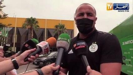 Déclarations de Bougherra à Oran