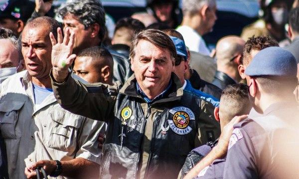 Jair Bolsonaro fined for not wearing mask at São Paulo biker rally