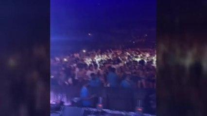 La policía desaloja un concierto en la plaza de toros de Mallorca