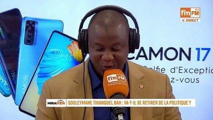 Souleymane Thian'ghel De L'UFDG « La politique est définitivement tournée chez moi »