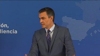 Sánchez reprocha a Aragonés que el Govern no haya estado presente en el recibimiento del presidente de Corea del Sur