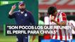 Víctor Manuel Vucetich sí pidió refuerzos para Chivas