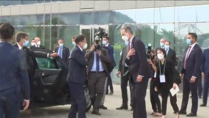 Felipe VI y el presidente de Corea del Sur inauguran la reunión anual del Cercle d'Economia