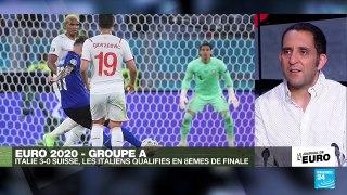 Euro2021 : après une victoire 3-0 contre la Suisse, l'Italie est déjà qualifiée pour les 8e de finale