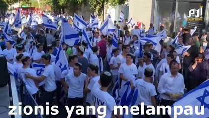 Gaza diserang lagi dan Al Qassam Malaysia bertindak balas, Israel sudah koyak lagi