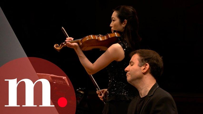 Akiko Suwanai and Iddo Bar-Shaï perform Janáček's Sonata for Violin and Piano, JW VII