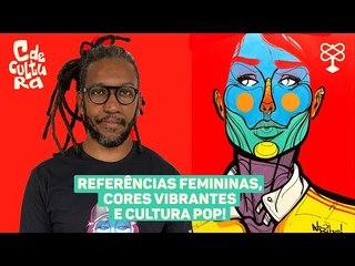 Inspirado em figuras femininas, artista retrata mulheres em suas obras