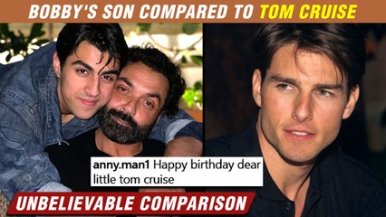 Bobby Deol Son Aryaman Compared To Tom Cruise | Steals Limelight