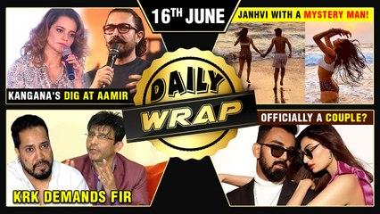 Kangana SLAMS Aamir, KRK Demands FIR Against Mika, Koffee With Karan New Season | Top 10 News