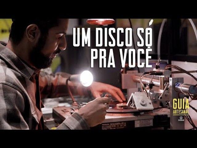 Vinyl Lab transforma a paixão pela música em discos artesanais