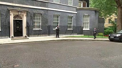 PM welcomes Crown Prince of Bahrain to Number 10