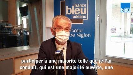 F. Bonneau, président sortant et candidat aux Régionales en Centre-Val de Loire