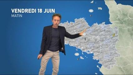 Illustration de l'actualité Bulletin météo pour votre vendredi 18 juin 2021