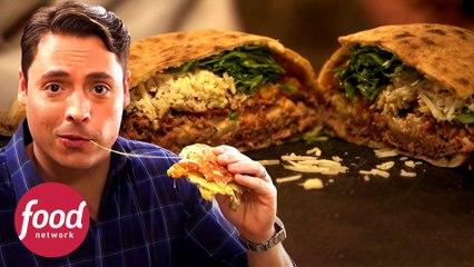 3 Versiones de pan lejos de lo convencional | El rey del sándwich | Food Network Latinoamérica
