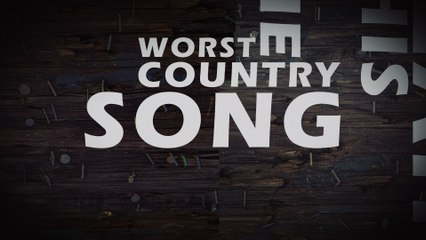 Brantley Gilbert - The Worst Country Song Of All Time