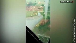 Pilot Circles Giant Twister