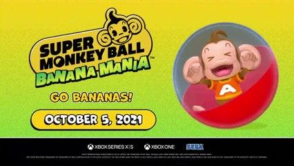 Super Monkey Ball Banana Mania | Announcement Trailer
