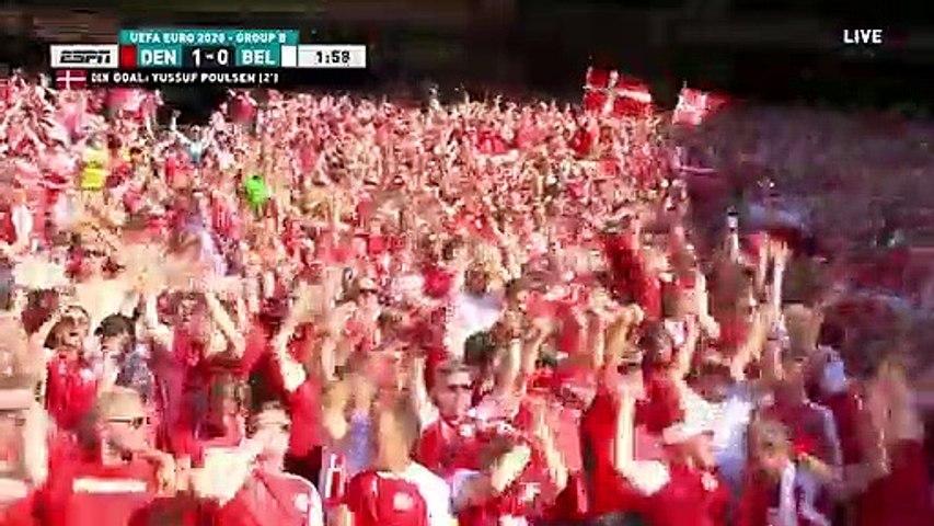 Denmark vs Belgium All Goals and Highlights 17/06/2021