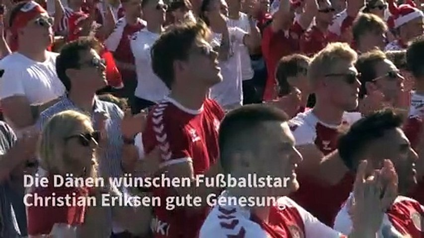 Standing Ovations für Christian Eriksen
