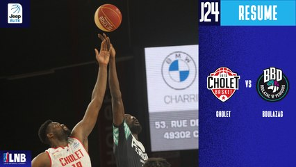 Cholet vs. Boulazac (116-80) - Résumé - 2020/21