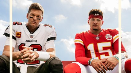 Patrick Mahomes and Tom Brady Share 'Madden 22' Cover