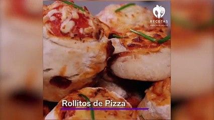 Rollitos de pizza