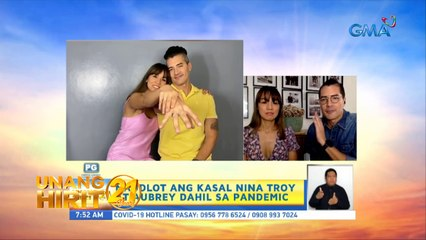 Unang Hirit: Morning chikahan with Troy Montero and Aubrey Miles!