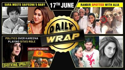 Kareena SLAMMED By Bajrang Dal, Ranbir Alia Party Photo, Sara On Meeting Saifeena's Baby|Top 10 News