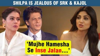 Shilpa Shetty JEALOUS Of ShahRukh-Kajol For Big Reason | Regrets This One Thing