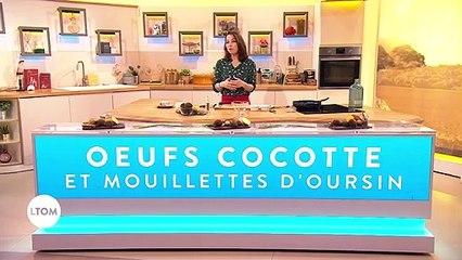 Recette - Oeufs cocotte et mouillettes d'oursin