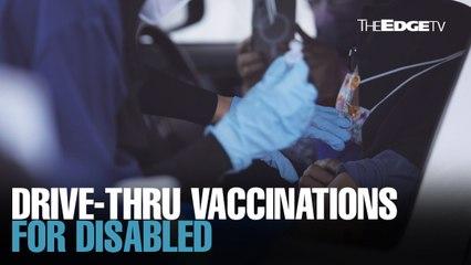 NEWS: Drive-thru vaccinations for OKU at SDP