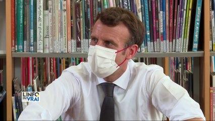 Déplacement dans la Somme pour Emmanuel Macron